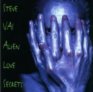 """Steve Vais Albumcover """"Alien Love Secret"""""""