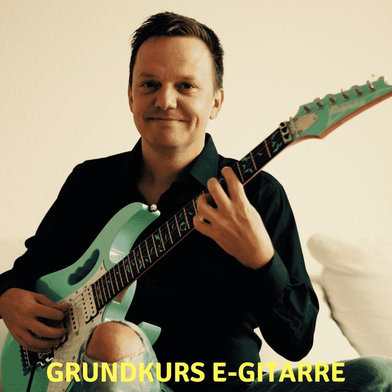 Gitarre lernen online Grundkurs E-Gitarre