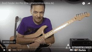 [Test] Fender Am Pro Strat (Video)