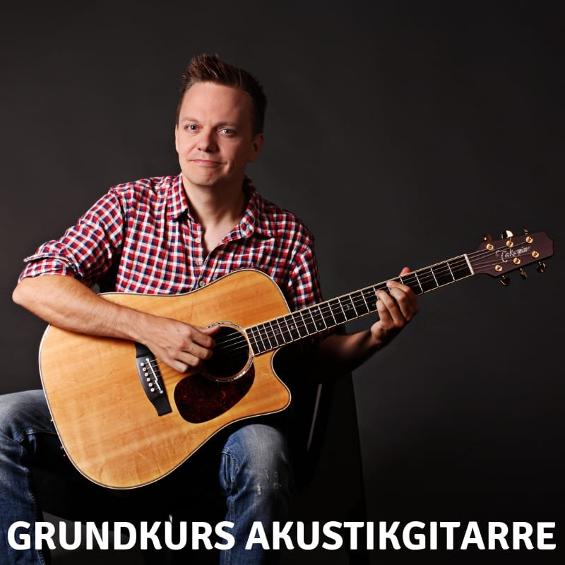 Grundkurs Akustikgitarre lernen