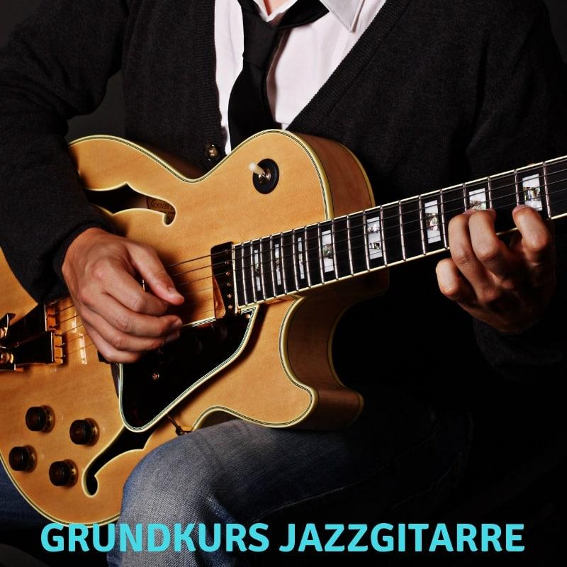 Grundkurs Jazzgitarre lernen