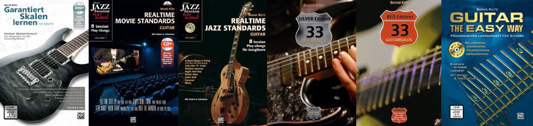 Gitarrenbücher von Bernd Kiltz