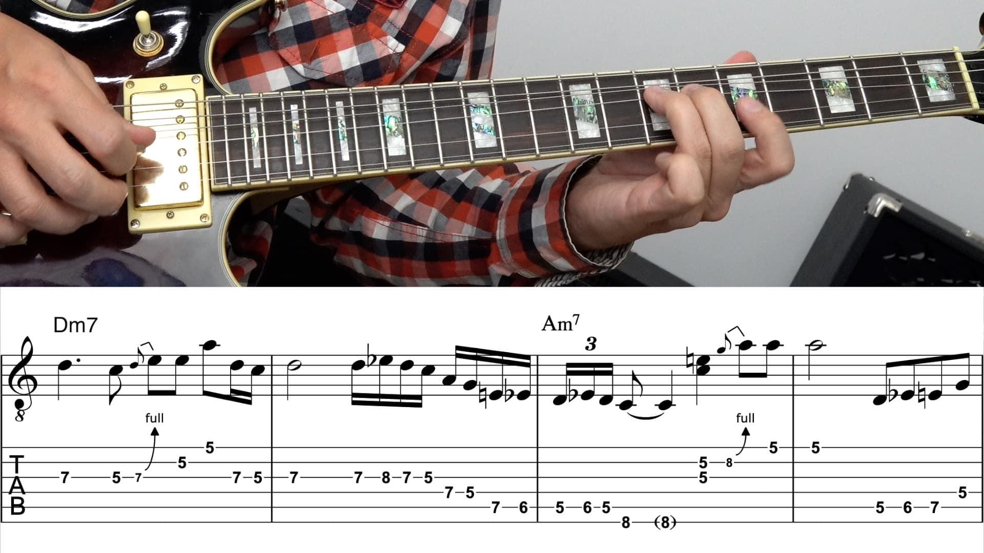 Gitarre lernen Blues Guitar 3