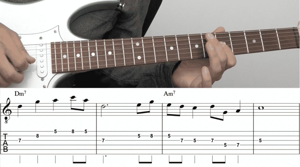 Gitarre lernen Grundkurs 2