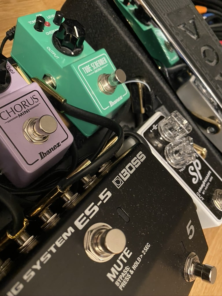 Gitarrensound Effektgeräte