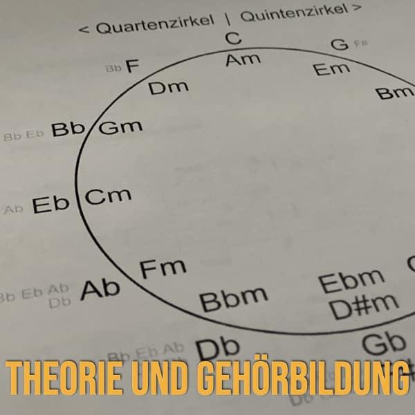 Gitarrenkurse Theorie und Gehörbildung