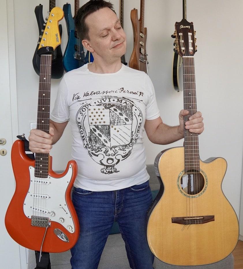 Gitarre lernen welche Gitarre