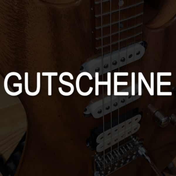 Gitarre lernen Gutscheine