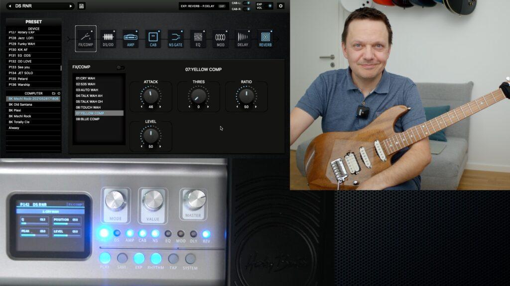 Gitarre lernen Effektgerät DNAfc