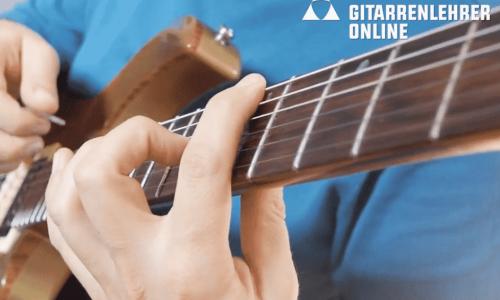 Gitarre lernen online kostenlose Kurse
